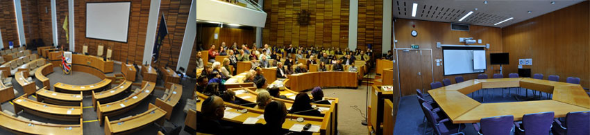 Harrow Civic Centre Meeting Rooms & Council Chamber